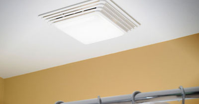 Install Bathroom Exhaust Fans to Help Prevent Mold